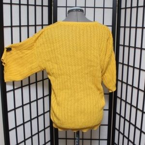 Vintage Tops - Vintage Mustard yellow knit top